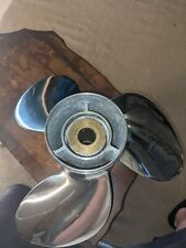 New listing Solas Prop Stainless Steel 3 blade 19 spline 14 3/4x17 R