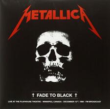 Metallica - Live WPG Canada 1986 FM Broadcast 2 x LP - Vinyl Album SEALED Record