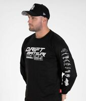 Drift Matsuri Long Sleeve Track Ebisu Japan JDM Car Turbo Mens Tee Shirt