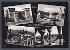 MANTOVA CITTÀ 54 SALUTI da... VEDUTINE Cartolina FOTOGRAFICA viaggiata 1955