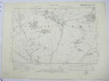 1924 OS 6 inches to a mile Map of Gloucestershire – Twyning XIINW
