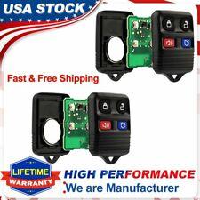 2Pcs Keyless Entry Remote Control Keys Fob Clicker For Ford Explorer Sport Track