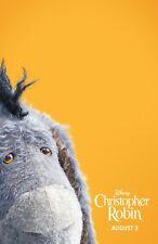 "Christopher Robin movie poster (f)  : 11"" x 17"" - Eeyore"