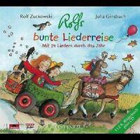 """ROLF ZUCKOWSKI """"ROLFS BUNTE LIEDERREISE"""" CD NEU"""