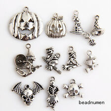 11pcs zinc alloy Mix Halloween Jewelry Making Pendant findings 24C