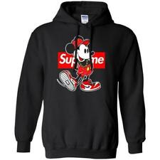 Mickey Mouse Shirt Minnie PULLOVER PARODY SWEATSHIRT Super SIZES XS-3XL HOODIE