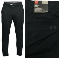 Under Armour UA Showdown Tapered Golf Trouser Pant - Black - All Sizes RRP£65