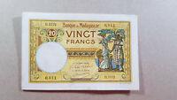 Madagascar 20 francs 1937 UNC