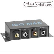 Jensen Transformers DM2 PO-2RP Stereo Line Output Hum/Noise Eliminator/Isolator