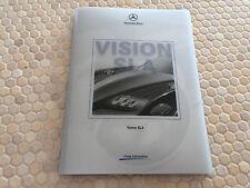 MERCEDES BENZ VISION SLA ROADSTER CONCEPT OFFICIAL WORLD PREMIER PRESS KIT 2000