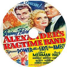 Alexander's Ragtime Band _ Tyrone Power Alice Faye Don Ameche 1938 dvd