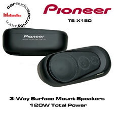 Pioneer TS-X150 Surface Mount Car Van Caravan Motorhome Speaker 120W Total Power