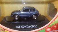 MOTORMAX 1975 Honda Civic Blue 1:87 HO Scale 73950FC DIE-CAST. New
