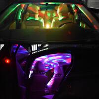 2*Mini USB RGB LED Disco Stage Lighting Ball DJ Crystal Magic Light Home Party G