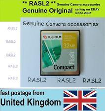 Genuine FujiFilm 32MB Cf Compact Flash Tarjeta de memoria CompactFlash imagen