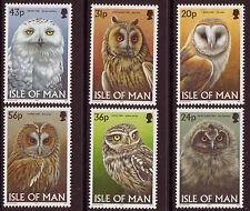 ISLE OF MAN 1997 OWLS UNMOUNTED MINT, MNH