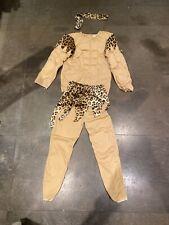 Dress Up Costume Tarzan Jungle Boy Size 8-10 Kids New