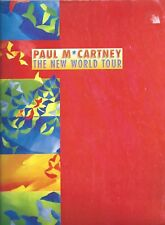 PAUL MCCARTNEY The New World TOUR PROGRAM