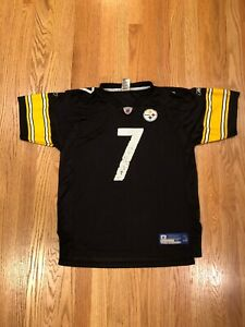 Pittsburgh Steelers Ben Roethlisberger Reebok NFL Football Jersey Youth XL Kids