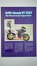 Prospectus Catalogue Brochure Motos AMC 1986