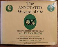 The Annoted Wizard Of Oz - Michael Hearn 1973 1st Edition 1st Printing HCDJ VG