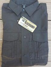 Men's Black BLACKHAWK! Warrior Wear Long Sleeve MDU Field Shirt Size XL