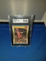 """1988 Fleer All-Star #120 Michael Jordan SGC 9.5 """" 50/50 Dead Centered """"PSA 10?"""