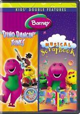 Barney: Dino Dancin' Tunes/Musical Scrapbook [New DVD] 2 Pack