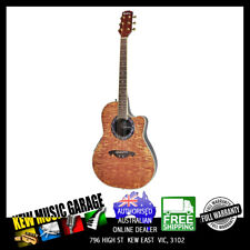 Guitars & Basses Ovation Applause Ae247 Acoustic Electric Guitar Mid Depth Cutaway Sunburst Modern And Elegant In Fashion