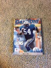 1991 Detroit Lions v Buffalo Bills Football Program 12/22 Chris Spielman Cover