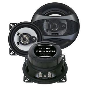 Crunch GTI42 10 cm 2-Wege-Lautsprecher 100 Watt (RMS: 50 Watt)