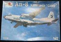 Amodel 72228 - Antonov An-8 Civil - NATO Code Camp - 1:72 Flugzeug Bausatz Kit