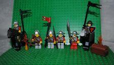 lot figurines personnages Lego pirates gardes Legos château accessoires 6 photos