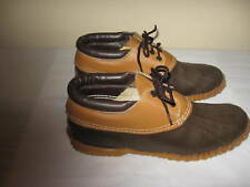 Sorel Men's Low Lace Up Duck Shoes Boots~ Size 8