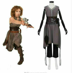 Doctor Who Cosplay Doctor Who River Song Alex Kingston Dress Costume