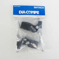 DIA-COMPE TECH-77 Brake Lever Left & Right (Pair) with Stopper Silver