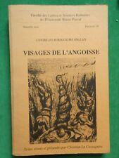 VISAGES DE L'ANGOISSE C LA CASSAGNERE FASC 29 CERAN ROMANTISME ANGLAIS