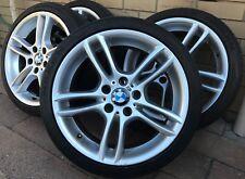 """GENUINE BMW 18"""" 1-Series E82 E87 E88 E36 E46 Wheels Tyres - STAGGERED"""