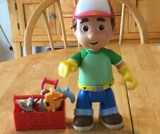 Handy Manny Talking Figure With Mini Toolbox & 5 Tools
