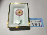 Misencen Porcelain France Small Plate 6x 9cm Daisy Paris France