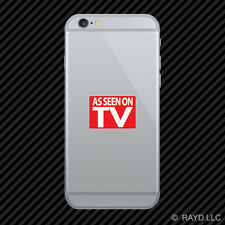 As Seen On Tv Cell Phone Sticker Mobile Die Cut jdm euro #1