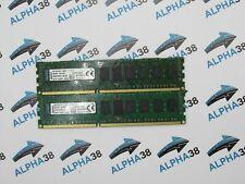 Kingston 16 GB (2x 8 GB) DDR3-1600 MHz PC3-12800R KVR16R11D8 8HB CL11 Server Ram