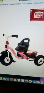Kettler Happy Air Navigator Stella Convertible Tricycle with Push Handle