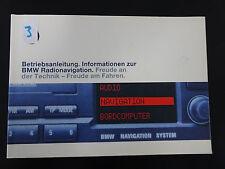 Original BMW 3er E46 Betriebsanleitung Handbuch BMW Radio Navigation SA 606