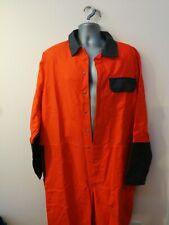 "New PROBAN welding overalls 40"" chest (40T) hi-vis orange high quality #155-156"