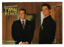 TWIN PEAKS GOLD BOX POSTCARD #48 DAVID DUCHOVNEY KYLE McLACHLAN POST CARD