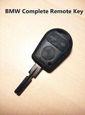 BMW 3 Buttons complete Remote Key for  BMW E31 E32 E38 E39 E36 Z3 M3 E46