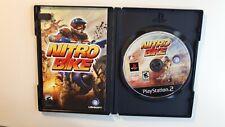 Nitrobike ps2 Sony PlayStation 2 NITRO BIKE COMPLETE CIB !!