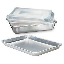 Nordic Ware Natural Aluminum Commercial 3-Piece Baker`s Set, Quarter Sheet and C