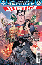 JUSTICE LEAGUE #1, New, First print, DC REBIRTH (2016)